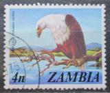 Poštovní známka Zambie 1975 Orel jasnohlasý Mi# 144