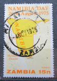 Poštovní známka Zambie 1975 Den Namíbie Mi# 157
