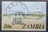 Poštovní známka Zambie 1975 Letadlo Červeného kříže Mi# 152