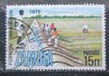 Poštovní známka Zambie 1975 Zavlažovací kanál Mi# 161
