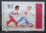 Poštovní známka Zambie 1979 Boj proti rasové diskriminaci Mi# 210