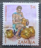 Poštovní známka Zambie 1981 Hrnčířka Mi# 251