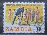 Poštovní známka Zambie 1984 Prezident Kenneth Kaunda Mi# 312