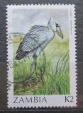 Poštovní známka Zambie 1987 Člunozobec africký Mi# 400
