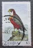 Poštovní známka Zambie 1987 Sokol taita Mi# 401