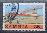 Poštovní známka Zambie 1987 Letadlo Mi# 425
