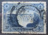 Poštovní známka Jižní Rhodésie, Zimbabwe 1938 Viktoriiny vodopády Mi# 37
