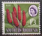 Poštovní známka Jižní Rhodésie, Zimbabwe 1964 Aloe excelsa Mi# 102