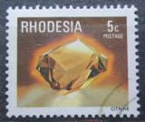 Poštovní známka Rhodésie, Zimbabwe 1978 Citrin Mi# 209