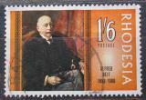 Poštovní známka Rhodésie, Zimbabwe 1968 Alfred Beit, vědec Mi# 74