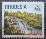 Poštovní známka Rhodésie, Zimbabwe 1978 Vodopády Gola Mi# 217