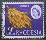 Poštovní známka Rhodésie, Zimbabwe 1966 Tabák Mi# 29
