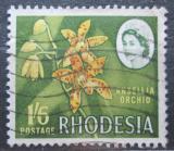 Poštovní známka Rhodésie, Zimbabwe 1966 Ansellia africana Mi# 32