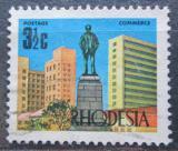 Poštovní známka Rhodésie, Zimbabwe 1970 Památník v Salisbury Mi# 91