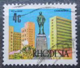 Poštovní známka Rhodésie, Zimbabwe 1973 Památník v Salisbury Mi# 127