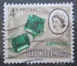 Poštovní známka Rhodésie, Zimbabwe 1966 Smaragd Mi# 49