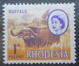 Poštovní známka Rhodésie, Zimbabwe 1966 Buvol africký Mi# 24