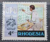 Poštovní známka Rhodésie, Zimbabwe 1974 UPU, 100. výročí Mi# 156