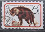 Poštovní známka Rhodésie, Zimbabwe 1976 Hyena čabraková Mi# 181