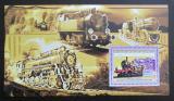 Poštovní známka Guinea 2006 Parní lokomotivy Mi# Block 1035