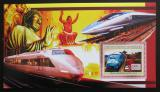Poštovní známka Guinea 2006 Japonské lokomotivy Mi# Block 1049