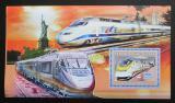 Poštovní známka Guinea 2006  Vysokorychlostní vlaky Mi# Block 1052