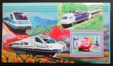Poštovní známka Guinea 2006  Vysokorychlostní vlaky Mi# Block 1054