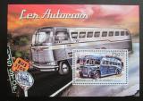 Poštovní známka Burundi 2012 Historické autobusy Mi# Block 305 Kat 9€