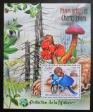 Poštovní známka Burundi 2012 Houby Mi# Block 230 Kat 9€