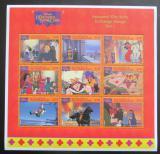 Poštovní známky Svatý Vincenc 1996 Disney, Chrám Matky Boží Mi# 3641-49