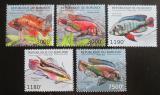 Poštovní známky Burundi 2012 Ryby Mi# 2778-82 Kat 10€