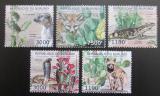 Poštovní známky Burundi 2012 Kaktusi a africká fauna Mi# 2748-52 Kat 10€