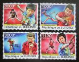 Poštovní známky Burundi 2011 Stolní tenis Mi# 2178-81 Kat 9.50€