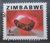 Poštovní známka Zimbabwe 1980 Granát Mi# 229