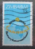 Poštovní známka Zimbabwe 1980 Rotary Intl., 75. výročí Mi# 243