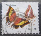 Poštovní známka Zimbabwe 1992 Motýli Mi# 488