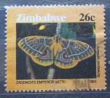 Poštovní známka Zimbabwe 1986 Bunaeopsis zaddachi Mi# 346 Kat 3.50€
