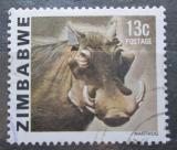 Poštovní známka Zimbabwe 1980 Prase savanové Mi# 234