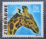Poštovní známka Zimbabwe 1980 Žirafa Mi# 235