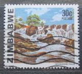 Poštovní známka Zimbabwe 1980 Vodopády Inyamgombi Mi# 239