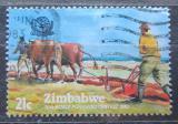 Poštovní známka Zimbabwe 1983 MS v orání Mi# 277