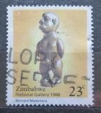 Poštovní známka Zimbabwe 1988 Socha, Bernard Matemera Mi# 379