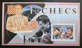 Poštovní známka Guinea 2006 Světoví šachisti Mi# Block 1000