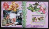 Poštovní známka Guinea 2006 Skauti a orchideje Mi# Block 1026