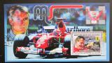 Poštovní známka Guinea 2006 Formule 1, Michael Schumacher Mi# Block 982