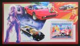 Poštovní známka Guinea 2006 Ferrari a jejich slavní majitelé Mi# Block 1078