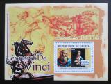 Poštovní známka Guinea 2007 Umění, Leonardo da Vinci Mi# Block 1243 Kat 7€