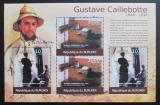 Poštovní známky Burundi 2012 Umění, Gustave Caillebotte Mi# 2371,2373 Kat 10€