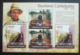 Poštovní známky Burundi 2012 Umění, Gustave Caillebotte Mi# 2372,2374 Kat 10€
