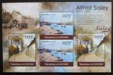 Poštovní známky Burundi 2012 Umění, Alfred Sisley DELUXE Mi# 2324,2326 Kat 10€